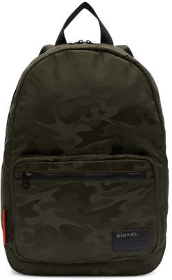 Diesel Green Camo F-Discover Backpack