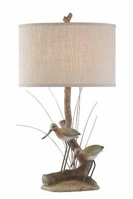 "Highland Dunes Edgar Bird 32"" Table Lamp Highland Dunes"