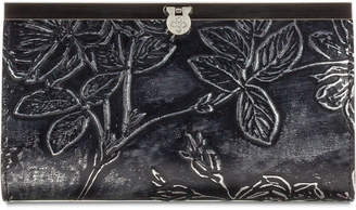 Patricia Nash Cauchy Metallic Embossed Leather Wallet