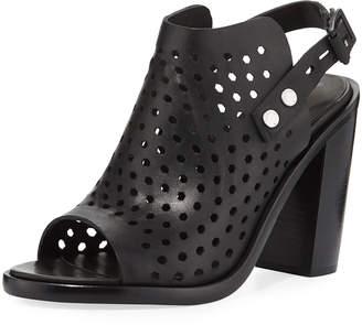Rag & Bone Wyatt Perforated High-Heel City Sandals