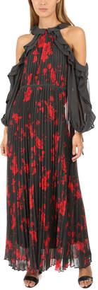 Self-Portrait Frill Sleeve Maxi Dress