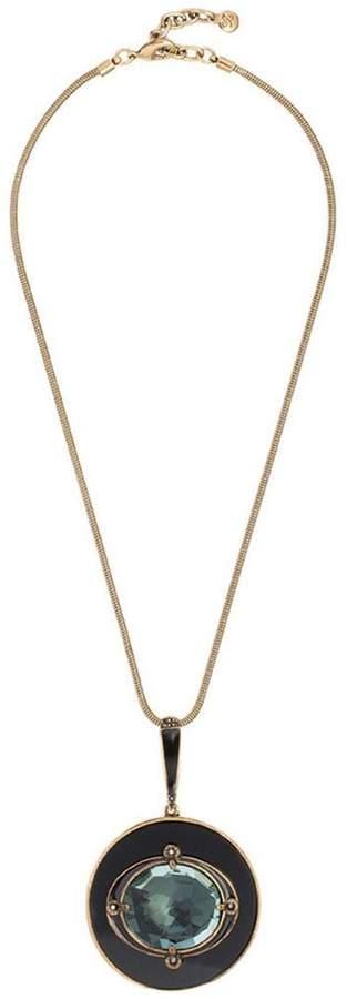 Camila Klein resin pendant necklace