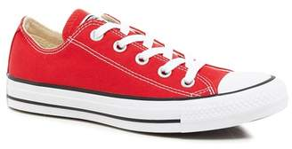 Converse Red Canvas 'All Star' Lace Up Shoes
