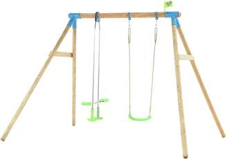 Nagano Tp Toys TP WOODEN DOUBLE SWING SET