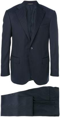 Corneliani pinstripe two piece suit