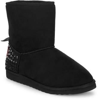 Love Moschino Women's Studded Slip-On Booties