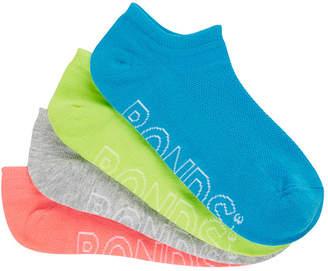Bonds Womens Logo Light Pop No Show Socks 4 Pack