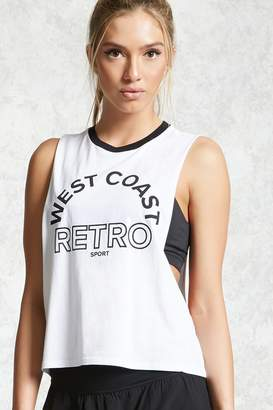 Forever 21 Active West Coast Tank Top