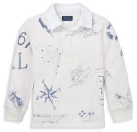 Ralph Lauren Little Boy's& Boy's Cotton Jersey Rugby Shirt