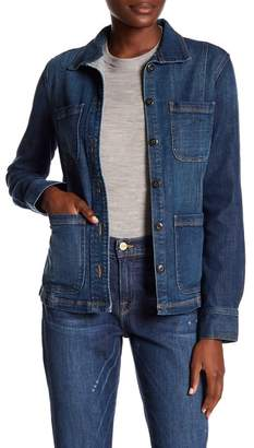 Frame Denim Long Sleeve Jacket