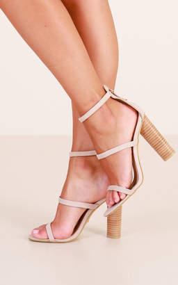 Showpo Billini - Lapaz Heels in blush micro