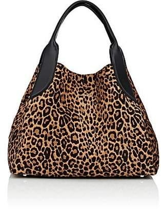 Lanvin Women's Trapeze Calf Hair Small Tote Bag - Leopard