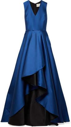Jason Wu Asymmetric Satin-crepe Gown - Blue