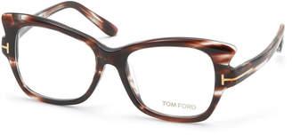 Tom Ford (トム フォード) - TOM FORD フォックス アイウエア シャイニーブロンドハバナ