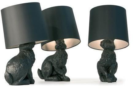Moooi - rabbit lamp by front for moooi