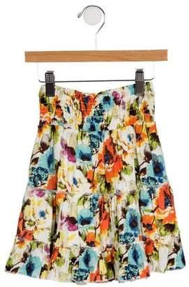 Imoga Girls' Printed Hana Skirt w/ Tags