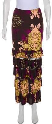 Jean Paul Gaultier Cutout Midi Skirt