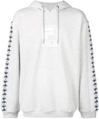 Fila logo side stripe hoodie