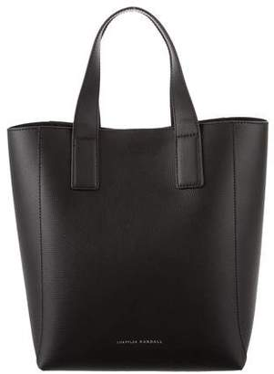 Loeffler Randall Leather Shopper Tote