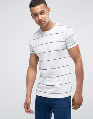 French Connection Yard Dye Thin Stripe T-Shirt