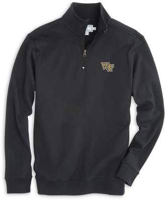 Southern Tide Gameday Skipjack 1/4 Zip Pullover - Wake Forest University