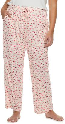 Sonoma Goods For Life Plus Size SONOMA Goods for Life Pajamas: Jersey Knit Pants