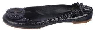 Tory Burch Patent Leather Reva Flats