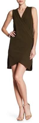 Dee Elly Sleeveless Surplice Dress