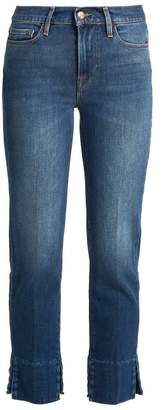Frame Le Nouveau Straight Leg Cropped Jeans - Womens - Denim