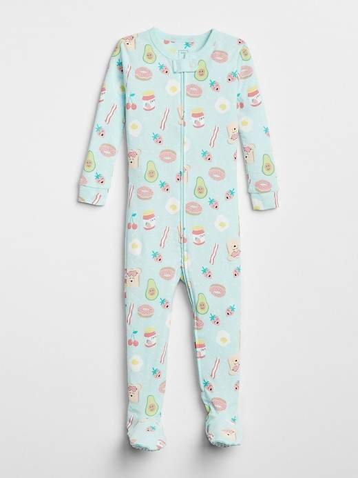 Breakfast Footed One-Piece