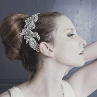 Carlisle Debbie Natalia Diamante Lace Style Wedding Comb