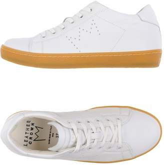 Leather Crown Low-tops & sneakers - Item 11278982PM