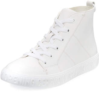 Opening Ceremony Howard Leather High-Top Sneakers