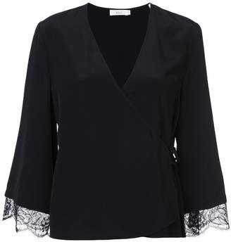 A.L.C. lace trim blouse