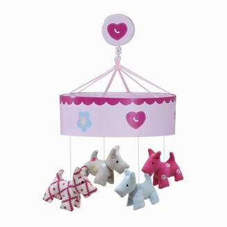 Lambs & Ivy Puppy Tales Musical Mobile