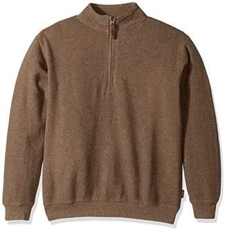 Woolrich Men's Bromley Half Zip Sweater