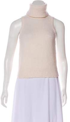 Rachel Zoe Sleeveless Turtleneck Sweater