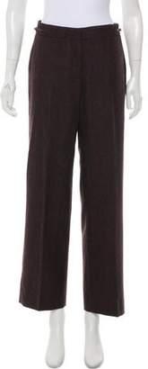 Loro Piana Cashmere & Silk-Blend Wide-Leg Pants