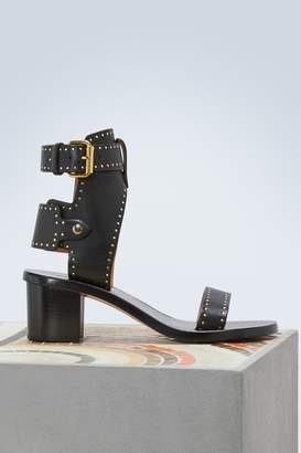 Isabel Marant Jaeryn studded leather sandals