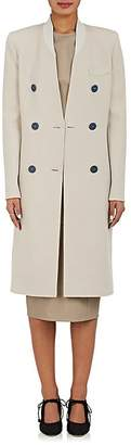 Giorgio Armani Women's Cashmere Melton Double-Breasted Coat