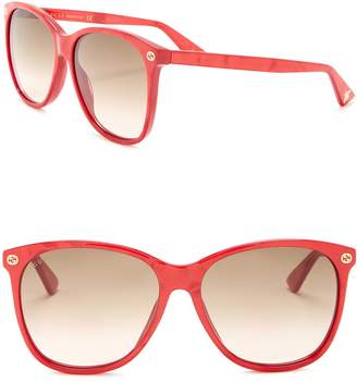 Gucci Round 58mm Sunglasses