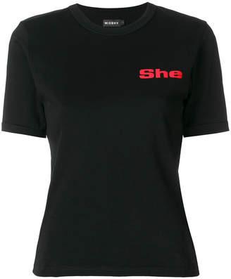 Misbhv She T-shirt
