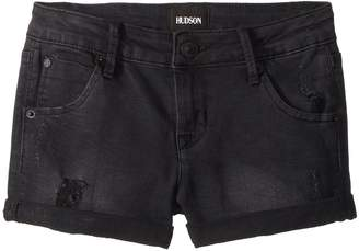 Hudson 2 1/2 Roll Cuff Shorts in Claw Wash Girl's Shorts