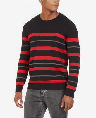 Kenneth Cole New York Men Stripe Sweater