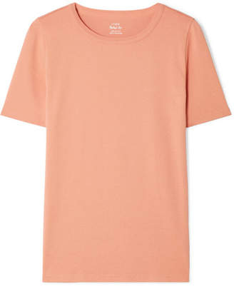 J.Crew Perfect Fit Cotton-jersey T-shirt - Beige