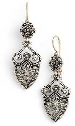 Women's Konstantino 'Silver Classics' Shield Drop Earrings $395 thestylecure.com