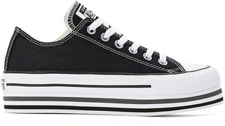 Converse CTAS Platform Multi-Stripe Low Top Trainers