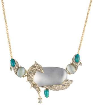 Alexis Bittar Love Bird Statement Necklace