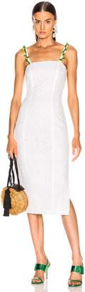 STAUD Cocomaya Dress in White   FWRD