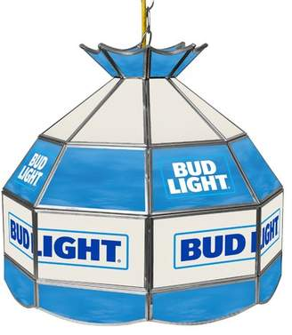 "Tiffany & Co. Trademark Global Bud Light 16"" Budweiser Light Fixture"